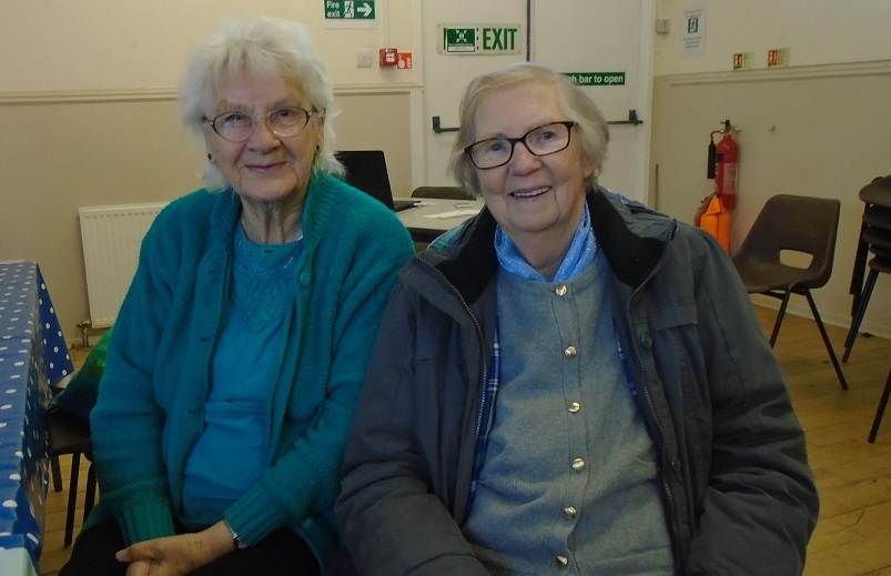 Two ladies at Govan Craft cafe