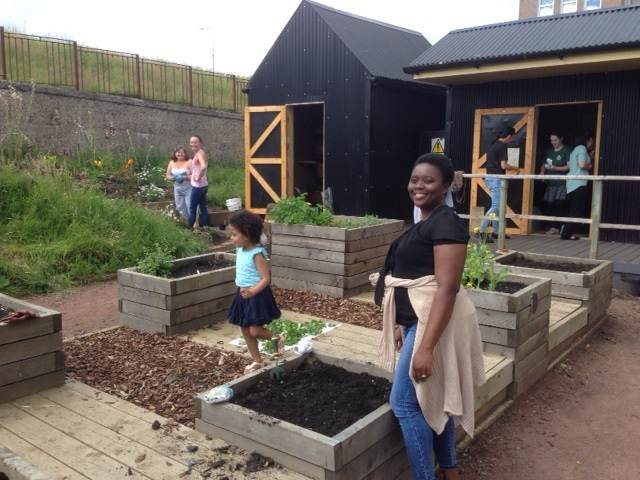 Community garden at Hawthorn
