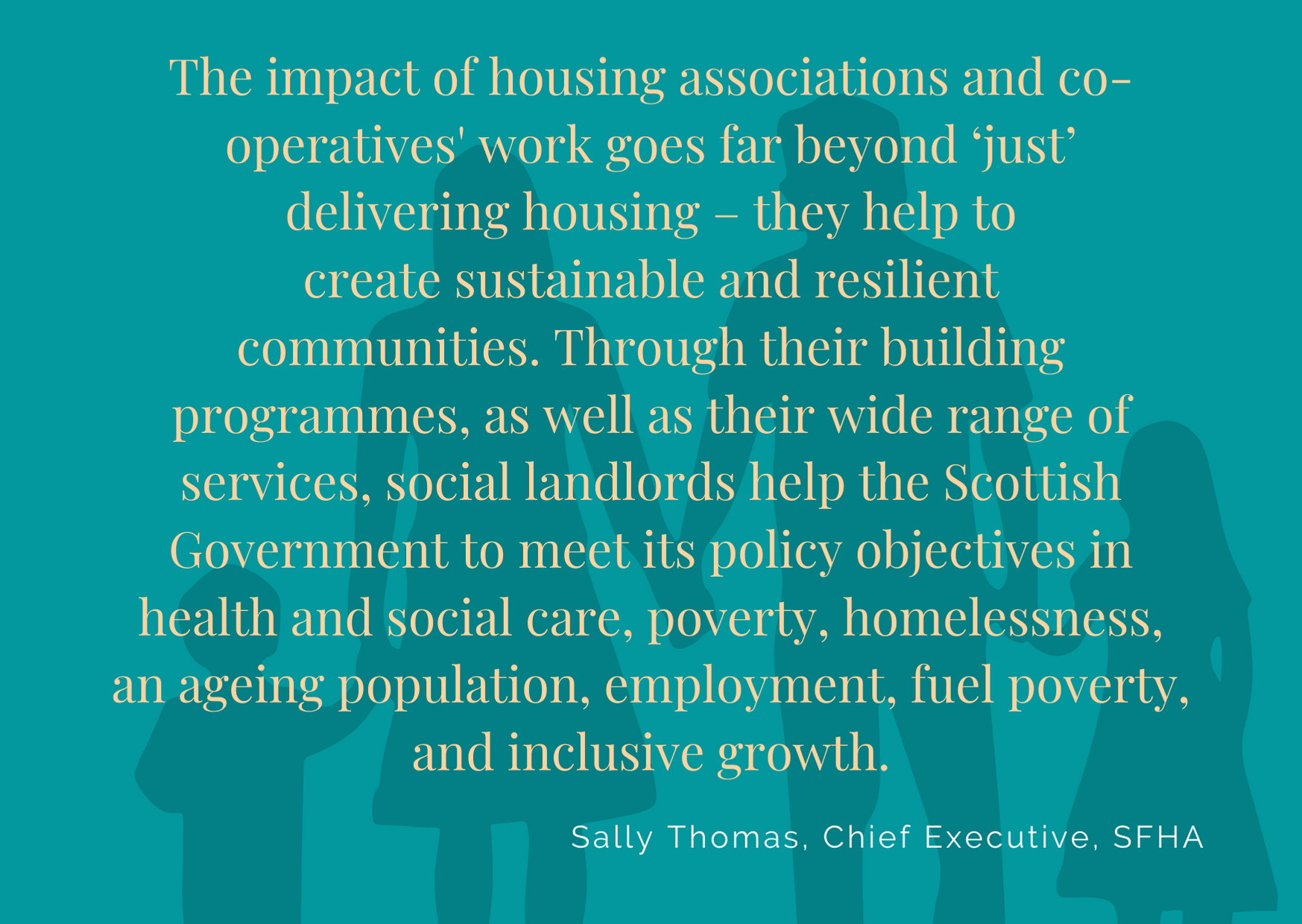 Quote about housing Sally Thomas 16.9.20